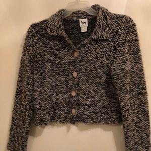 Tweed casual blazer